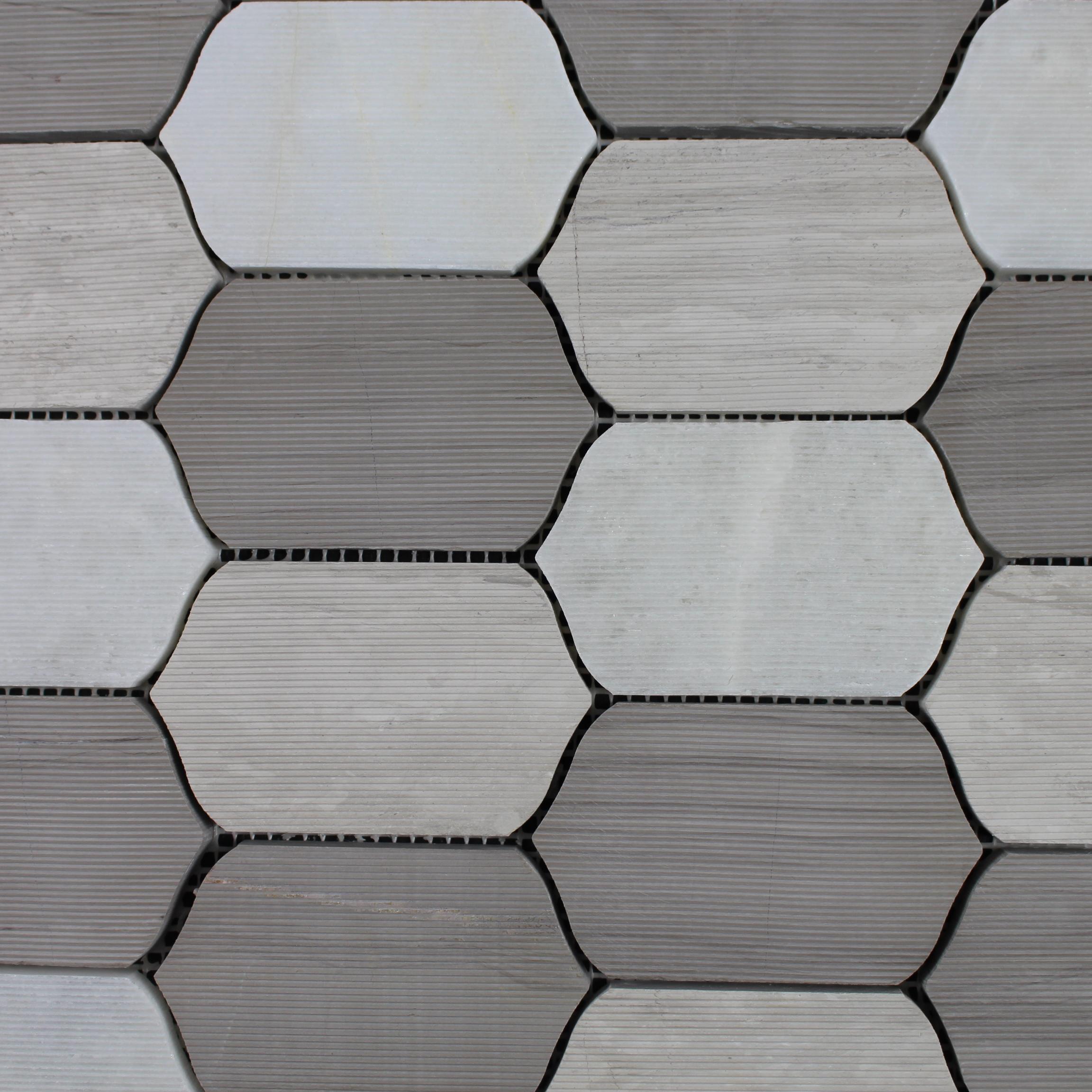 Finden Sie Hohe Qualität Wabe Mosaik Fliesen Hersteller Und Wabe Mosaik  Fliesen Auf Alibaba.com