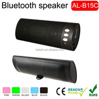 2015 Newest Best Design mini loudspeaker bluetooth portable wireless car subwoofer mini bluetooth speaker box ( AL-B15C )