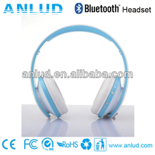 De china al por mayor! Ald06 colorido barato wireless stereo 2013 venta caliente headphone bluetooth