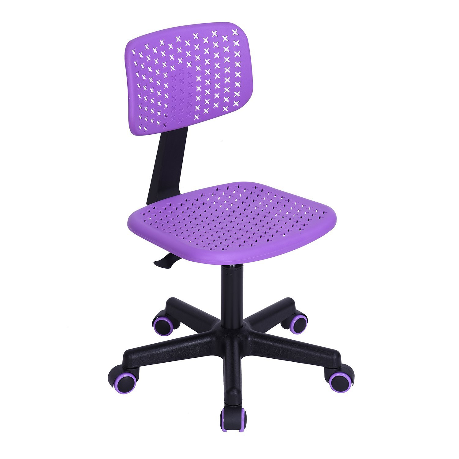 Get Quotations · Office Chair Thanksgiving Christmas Gift, FurnitureR  Low Back Adjustable Kids Computer Seat Office Desk