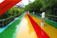 Caboli epoxy waterproof outdoor floor covering