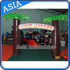 Inflatable Garden Arch/Giant Balloon Arch With Tree Design For Garden/Park Using