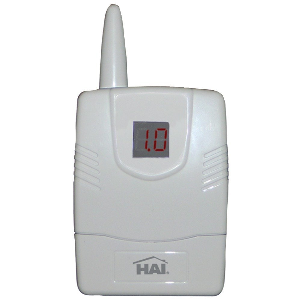 1 - 64-Zone Wireless Receiver, 433MHz for use in domestic & international installations, Allows up to 64 unique wireless security transmitters to report information to an HAI(R) controller, Transmitters replace wired door & window sensors as well as wired smoke, motion & glassbreak detectors