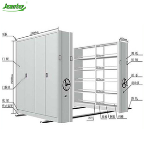 Modern Hand Pulled & Mechanical Assisted & Elecrtonically Powered Mobile Warehouse Shelving