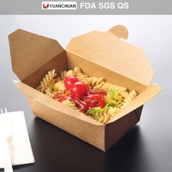High Quality Brown Paper Food Delivery Box For Noodle Buy Food