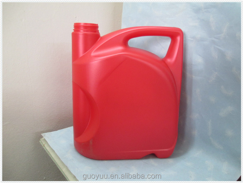 Oil Lubricant Jerry Cans/ 5L HDPE Lubricant Oil Empty Plastic Bottle With Lid