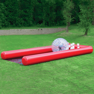 Good quality inflatable used bowling lanes for sale