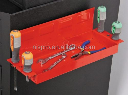 12 inch High quality magnetic parts tray with screwdriver hole tool holder