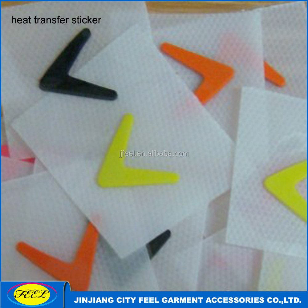3D Raised rubber sillicon heat transfer label for garment