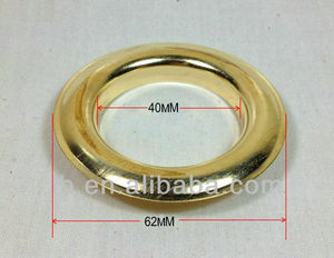 40MM big metal grommet eyelet for window curtain accessories