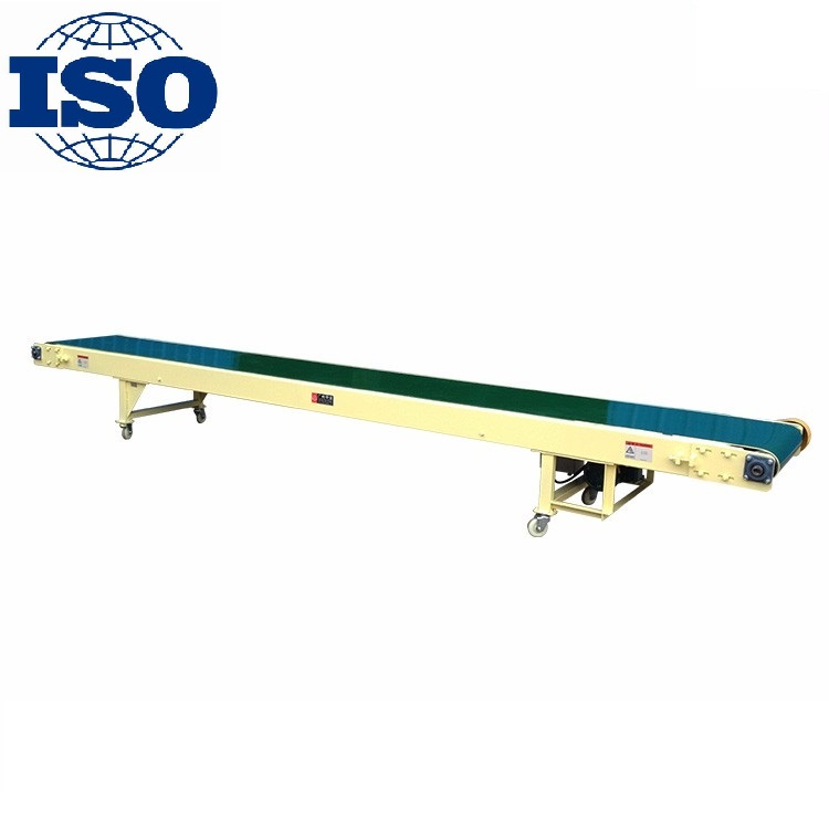 high quality heavy-duty flat belt conveyor for 50-150 kg bags and boxes