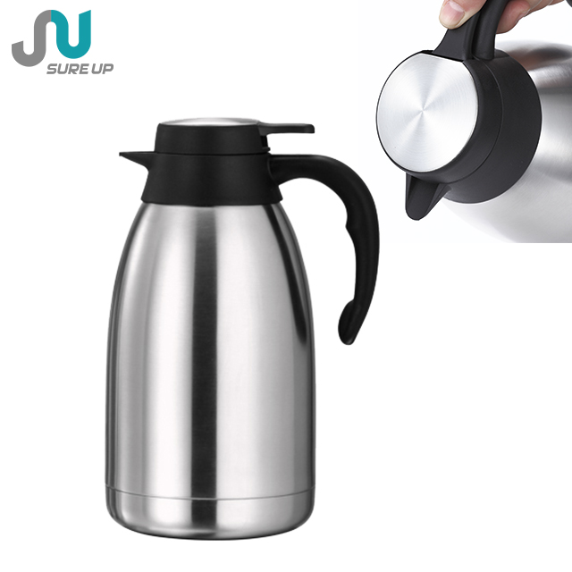 STAINLESS STEEL 1.5L HOT N COLD VACUUM THERMOS FLASK