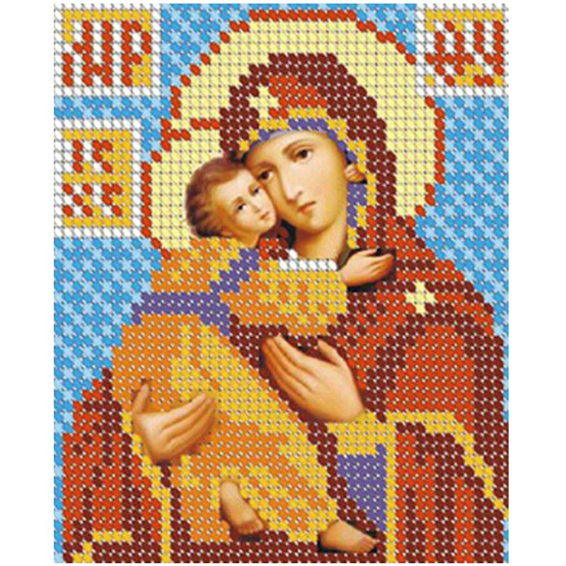 DIY 5D Diamond Embroidery Diamond Mosaic Russia Human Virgin and Child Round Rhinestones Diamond Painting Cross Stitch Kit decor