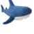 Plush Ocean Blue Shark Toys Super Soft Stuffed Animal Shark Dolls Best Gifts for Kids