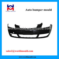 Plastic injection molding car bumper