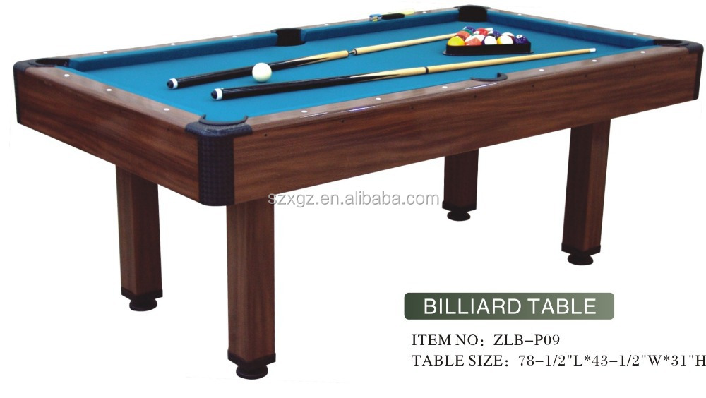 small pool table size 2016 fashion mdf cheap small size pool table 5539