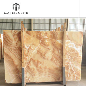 floor and wall decorative amber onyx slabs