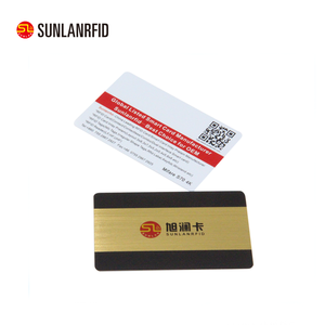 CR80 glossy surface printable Reader and writer smart card
