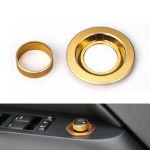 5 видов цветов алюминиевое внутреннее боковое зеркало регулятор кнопка управления украшение подходит для Jeep Patriot Compass 2011-2015 автомобильный С...(China)