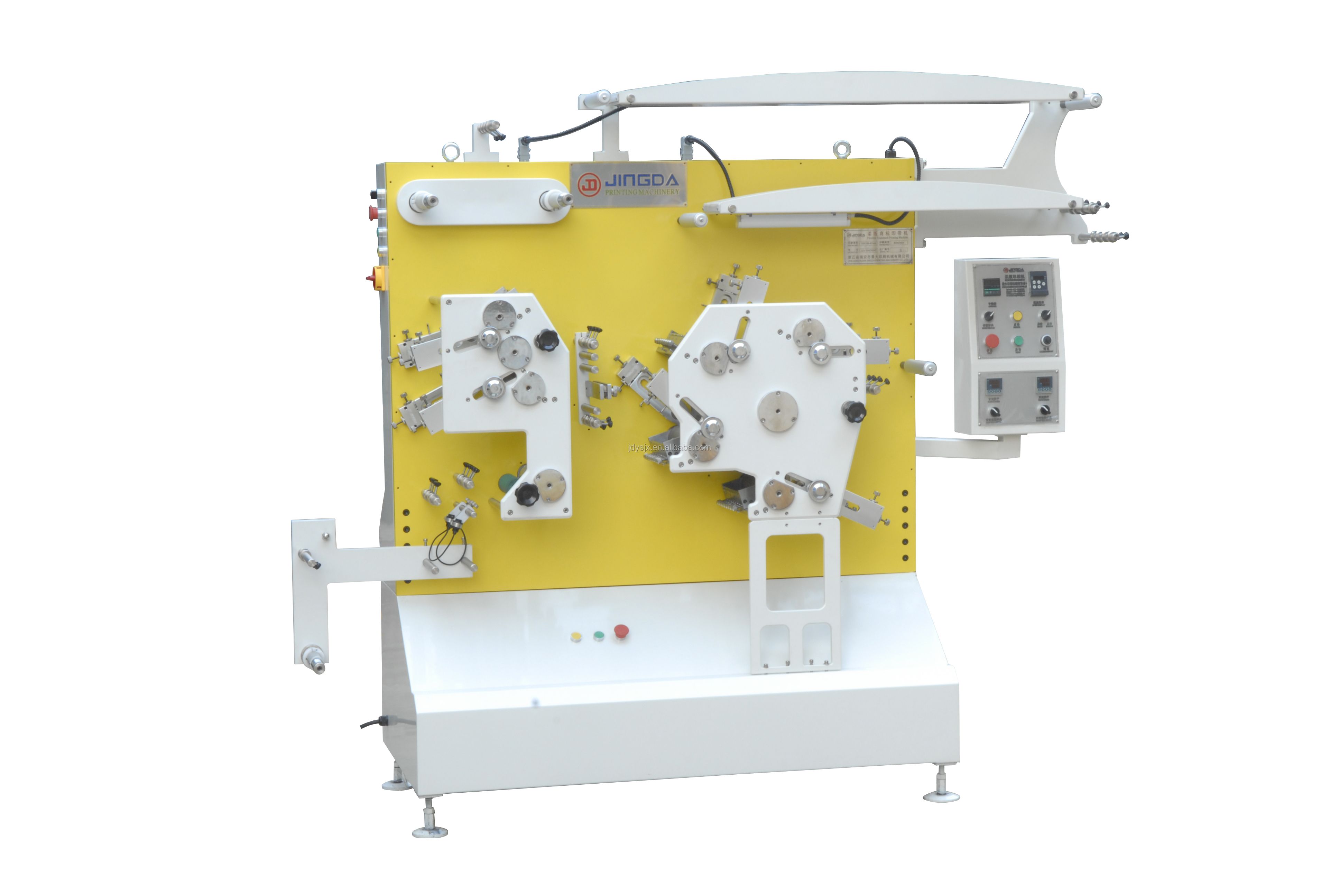 This is a graphic of Decisive Fabric Label Printing Machine