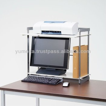Japanese High Quality Monitor Shelf Desktop Rack For Your Office