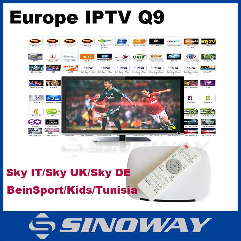 Iptv box spanish channels / starblucks cf