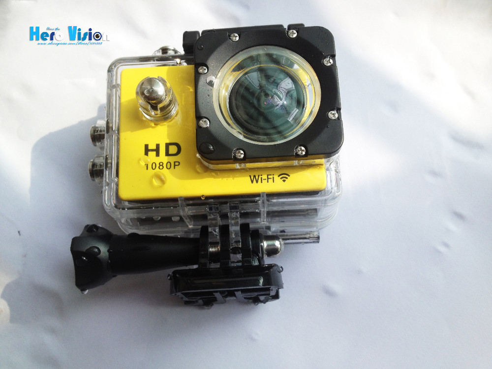 Go Pro WiFi Action Camera Style+ Battery + Charger 1080p Full HD Waterproof