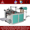 High Speed one line heat sealing heat cutting T-shirt bag making machine price with automatic punching