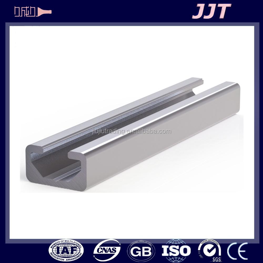 L achat de la chine fendue en aluminium tube carré