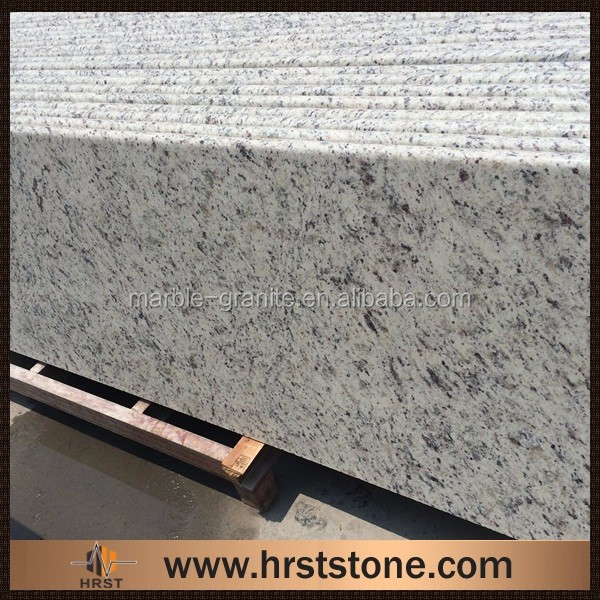 white rose granite kitchen counter top