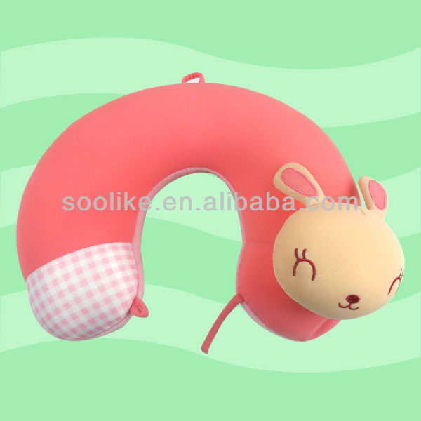 Beat selling and cute design neck pillow/ Travel Pillow neck support and rest or as gift