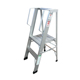2 3 4 Steps Single-Sided Folding Aluminum Platform Ladder
