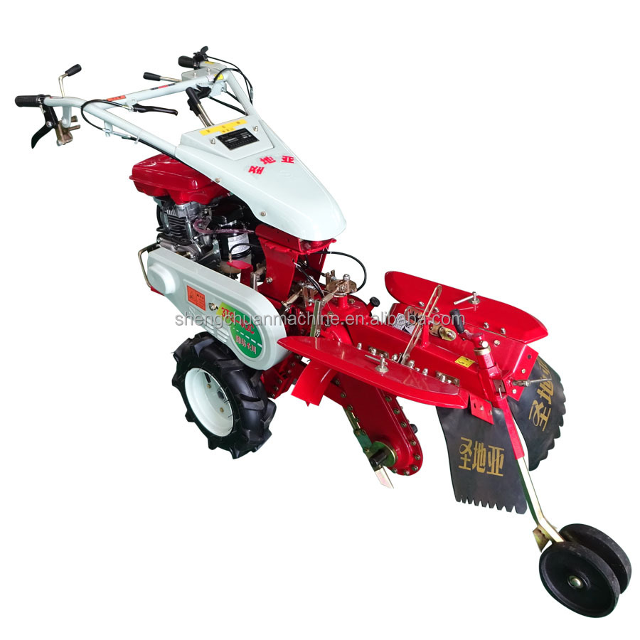 Petrol and diesel for rotary tillers or cultivators used in the harvesting of rice wheat barley crops machine
