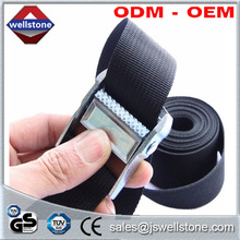 1-4 M 25mm Width Nylon Pack Cam Tie Down Strap Lash Luggage Bag Belt Metal Buckle