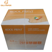 Top Quality Brightness 98-110% A4 Copy Paper 80 gsm 70 gsm 500 Sheets