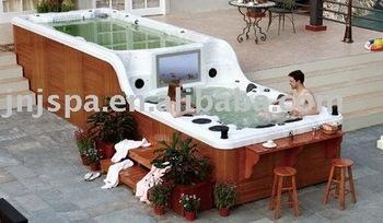 Jacuzzi Grande Taille.Avec Dvd 32 Tv Grande Taille Piscine Spa Piscine Buy Spa De Natation Spa De Natation Piscine Product On Alibaba Com