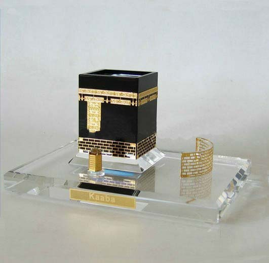 Hight Quality Good Crystal Kaaba Model For Islamic Crafts&Gifts