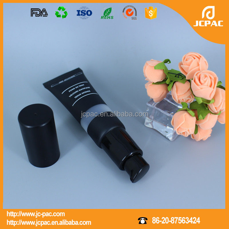 Dia 25mm Black Lotion Pump Tube Suitable for Cosmetic Packaging Airless Pump Tube