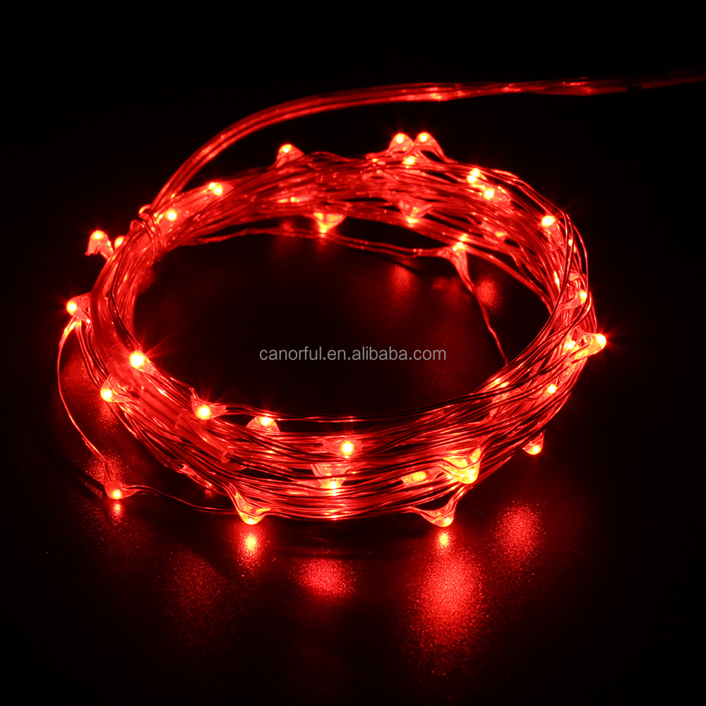 Christmas Lights With Wire Red Red - Dolgular.com