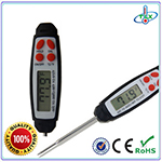 Digital Instant Read Soil Thermometer Liquid Thermometer with Temperature  Holding and Max Min Record Function