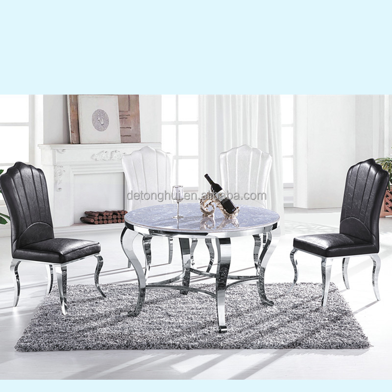 luxury granite dining table for sale CT804