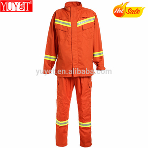 Environmental aramid firefighter protective nomex fireman fire suit
