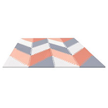 Soft Foam Trangle Kids Puzzle Exercise Play Mat for baby