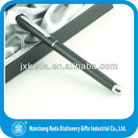 2014 Best quality metal gift pen for office use in matt black color with logo