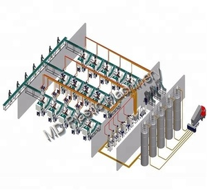 Plastic Material Central Conveying Storing Drying System Machine Equipment