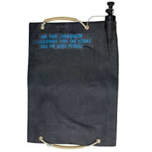 BudK Swiss 20 Liter Black Water Bag by Sturm Military Surplus