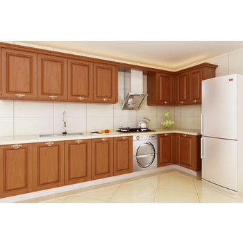factory directly ready china made low price pecan wood kitchen rh alibaba com price kitchen cabinets home depot price kitchen cabinets online