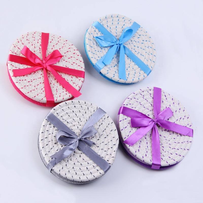 Renkli sevimli pamuk ipi sıcak pembe placemats şükran hediyeler için