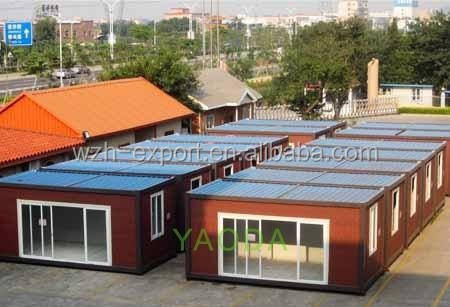 Habitable container house with wheels prefab shipping container house in design