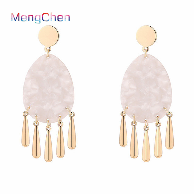 hawaiian 2019 Hot selling Elegant Fancy jewelry wholesale Lead and nickel free clip on copper alloy earrings for girls 034